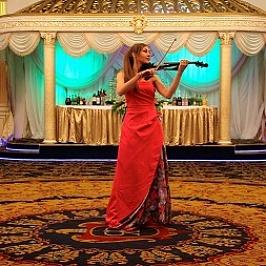 Музыкальный подарок на свадьбу- живая музыка на скрипке
